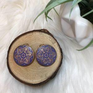 Boho Round Earrings